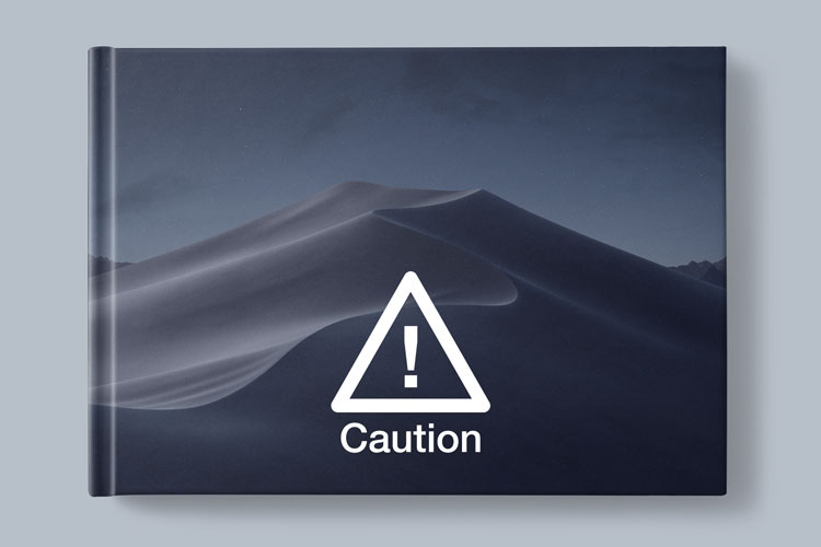 macOS Mojave Update Caution