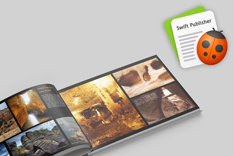 Photo Book Created with Swift Publisher