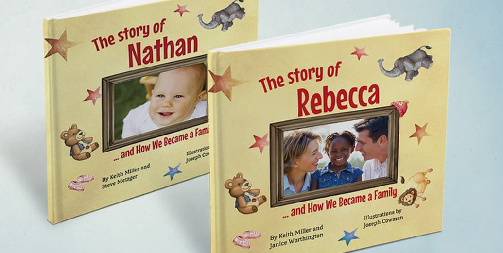 Adoption Stories Books by Keith Miller