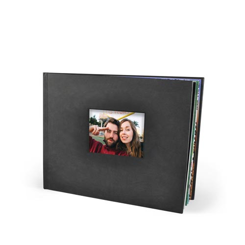 11x8.5 Die Cut Hardcover Photo Book with Silk 120 Photo Paper