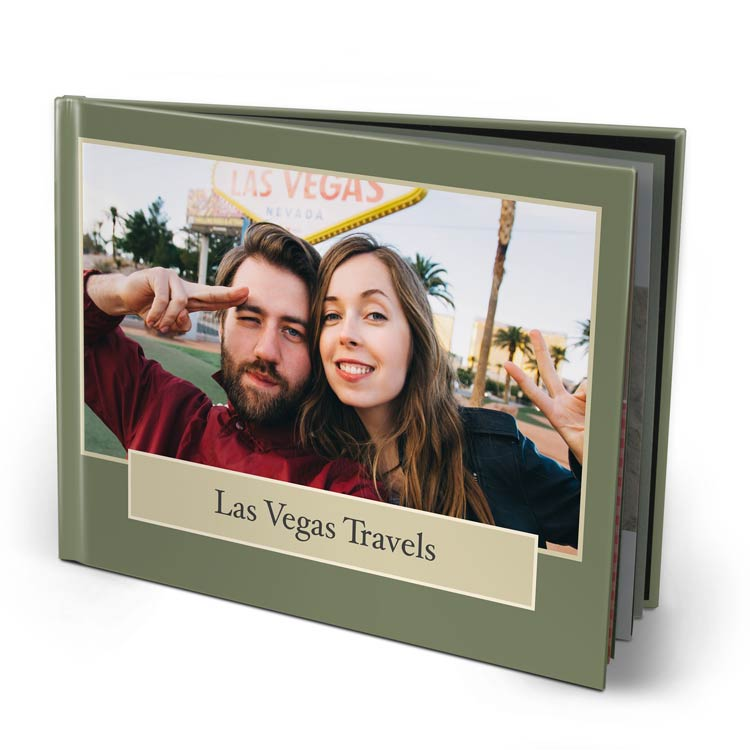 11x8.5 Imagewrap Hardcover with Lustre 200 Photo Paper