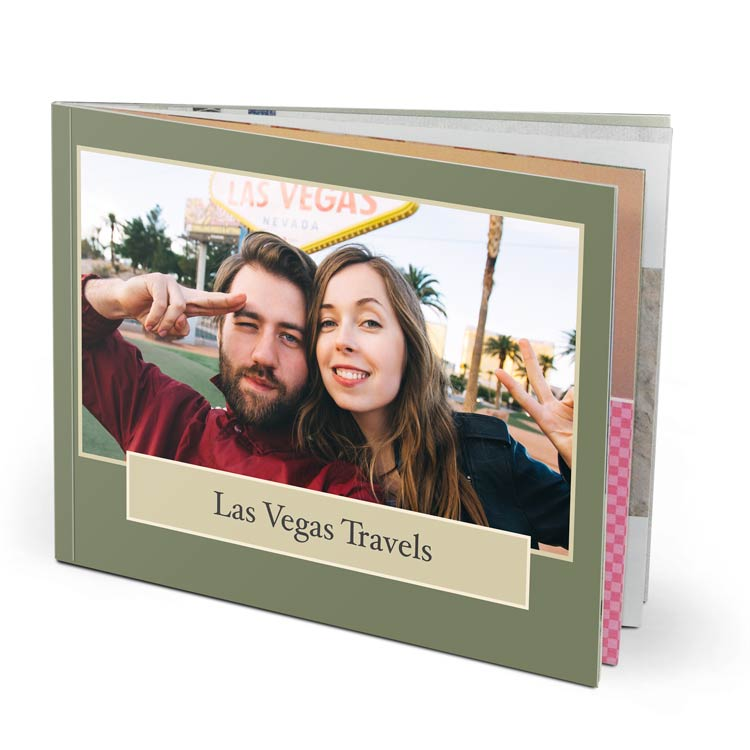 11x8.5 Imagewrap Softcover with Lustre 200 Photo Paper