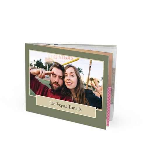 11x8.5 Imagewrap Softcover Photo Book with Lustre 200 Photo Paper