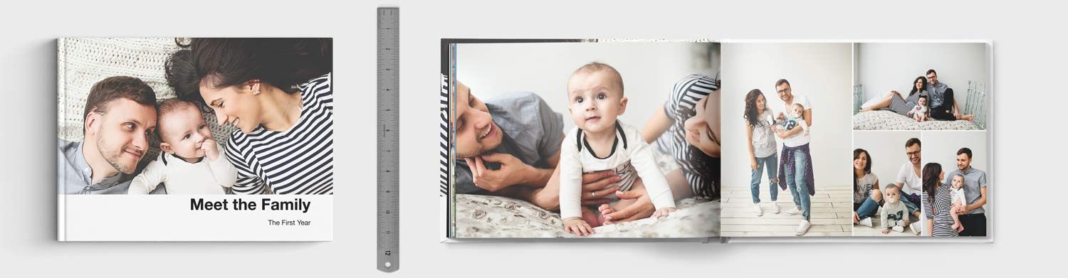 13x10 inch Photo Book Size Comparison