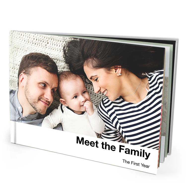 13x10 Imagewrap Hardcover with Lustre 200 Photo Paper
