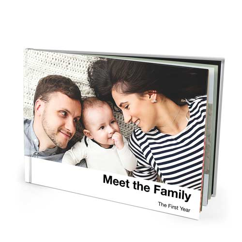 13x10 Imagewrap Hardcover Photo Book with Lustre 200 Photo Paper