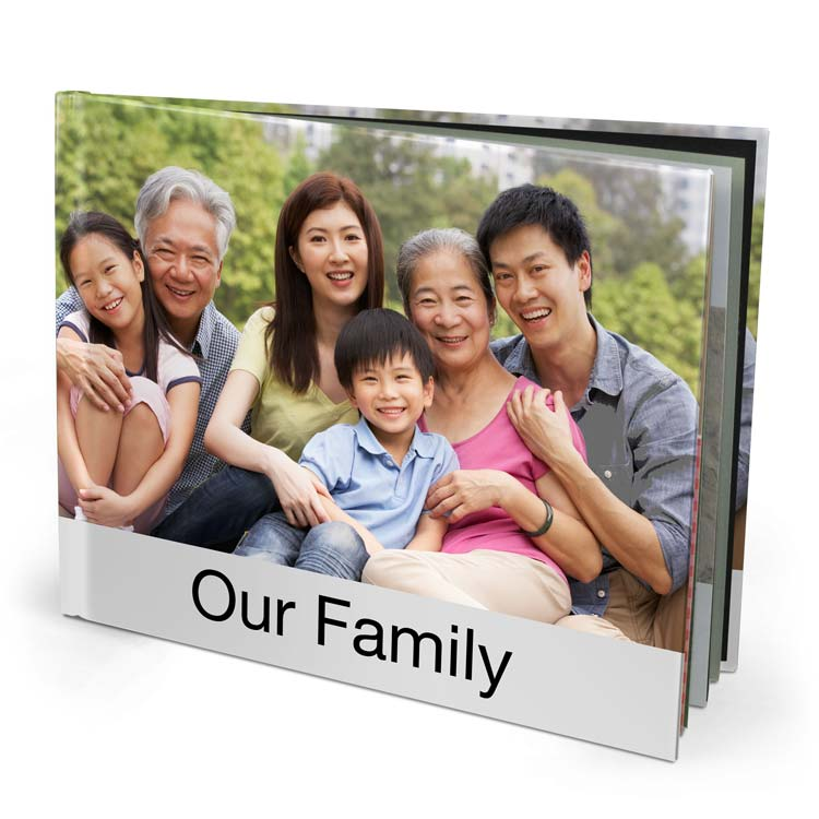 13x11 Imagewrap Hardcover with Premium 150 Photo Paper