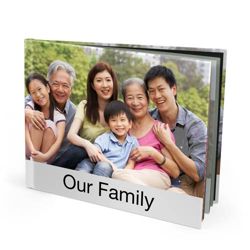 13x11 Imagewrap Hardcover Photo Book with Premium 150 Photo Paper