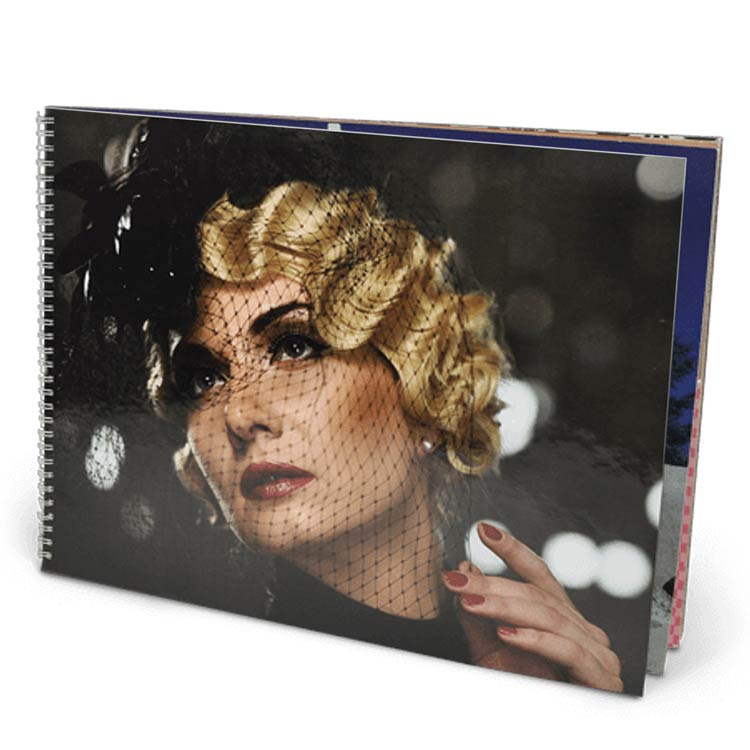 14x11 Wire-O Softcover with Semi-Gloss 220 Photo Paper