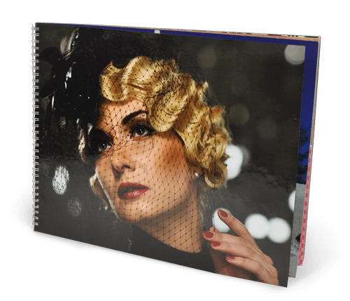 14x11 Wire-O Softcover Photo Book with Semi-Gloss 220 Photo Paper