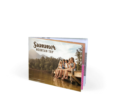 9x7 Imagewrap Softcover Photo Book with Lustre 200 Photo Paper