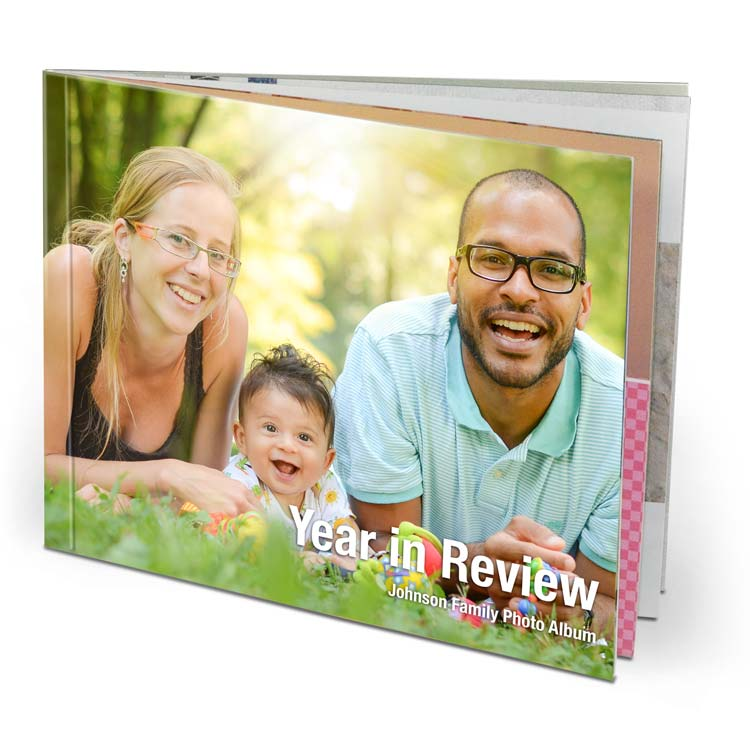 9x7 Imagewrap Softcover with Lustre 200 Photo Paper