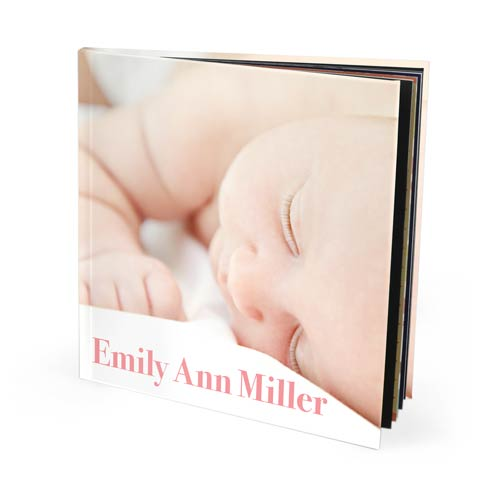 12x12 Seamless Layflat Hardcover Photo Book with Lustre 450 Photo Paper