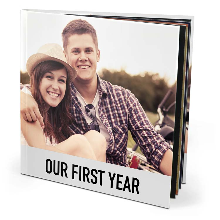 8x8 Seamless Layflat Hardcover with Lustre 450 Photo Paper