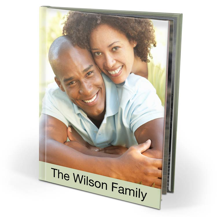 8x10 Imagewrap Hardcover with Silk 120 Photo Paper