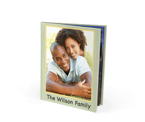 8x10 Imagewrap Hardcover Photo Book with Silk 120 Photo Paper