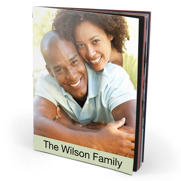 8x10 Saddle Stitch Softcover with Silk 120 Photo Paper