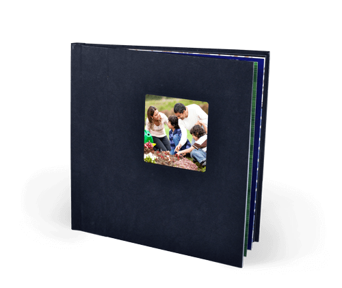 10x10 Embossed Hardcover Photo Book with Silk 120 Photo Paper