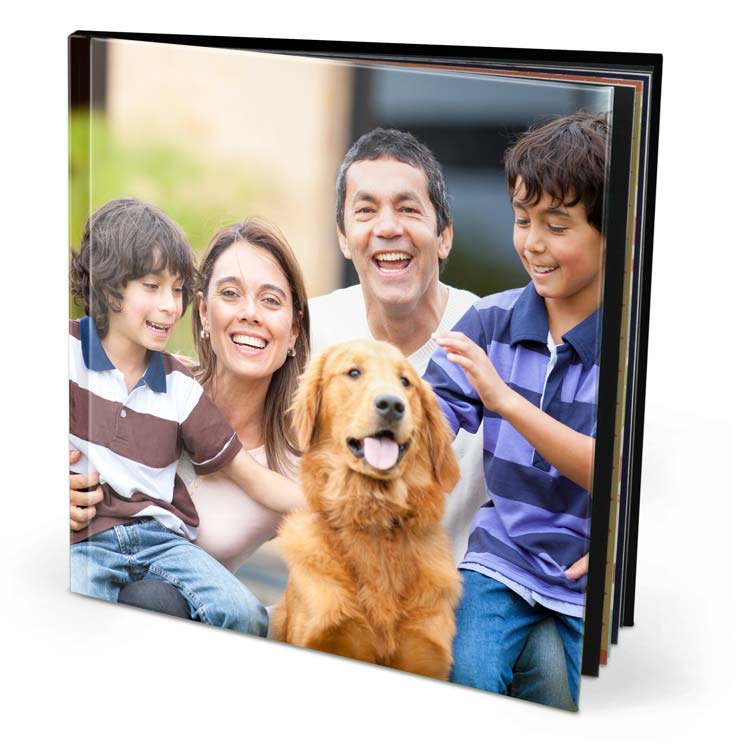 10x10 Imagewrap Hardcover with Lustre 200 Photo Paper