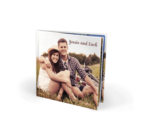 8.5x8.5 Imagewrap Hardcover Photo Book with Lustre 200 Photo Paper