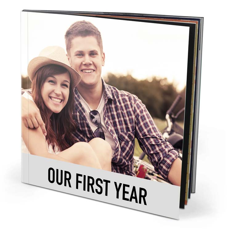 8.5x8.5 Imagewrap Softcover with Premium 150 Photo Paper
