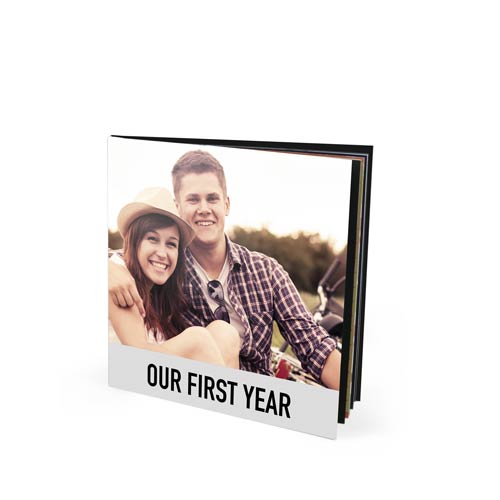 8.5x8.5 Saddle Stitched Booklet with Silk 120 Photo Paper