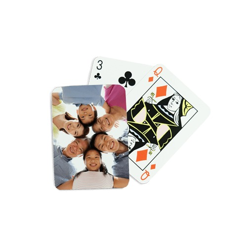 2.5x3.5 Photo Playing Cards