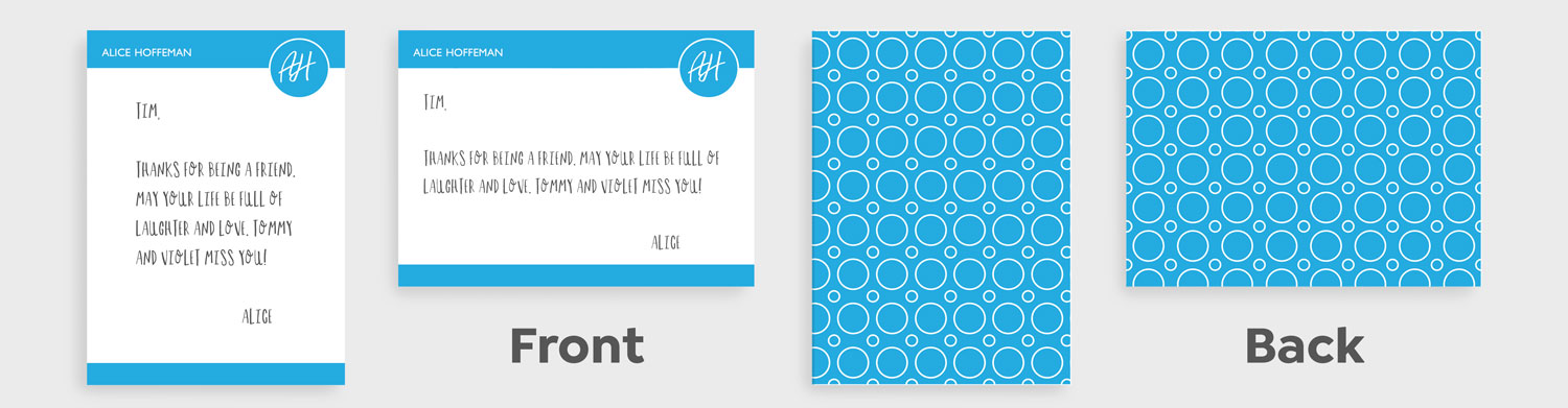 4x6 Stationery Card