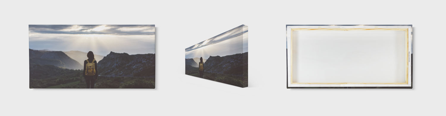 12x24 Panoramic Canvas Prints - PrestoPhoto