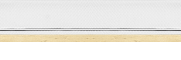 Top Side Canvas Border